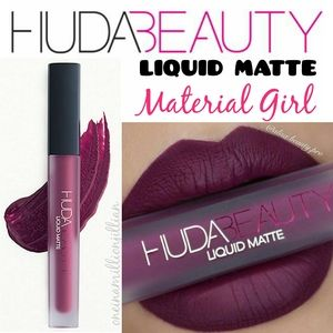 Huda Beauty Liquid Matte Lipstick - Material Girl